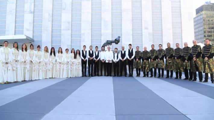 Birleşmiş Milletlerde Barış Şarkıları