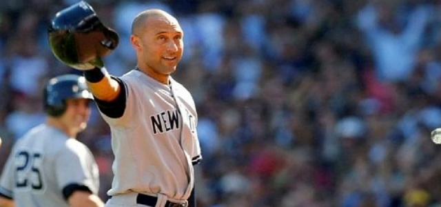Derek Jeter beyzbol sahalarına veda etti