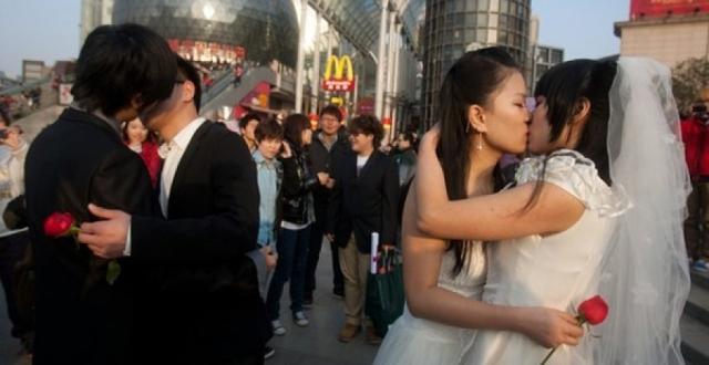 Çinli aktivistler 'eşcinsellik tedavisi'ne karşı