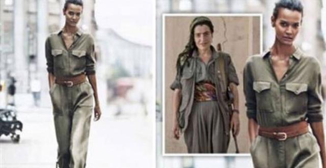 'Terorist kıyafeti' özür diletti